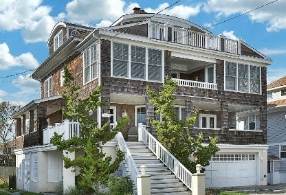 Bay head luxury homes for sale jersey shore real estate for Jersey shore waterfront homes for sale