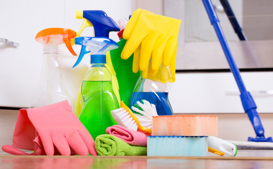 Cleaning Products That Should be Stored